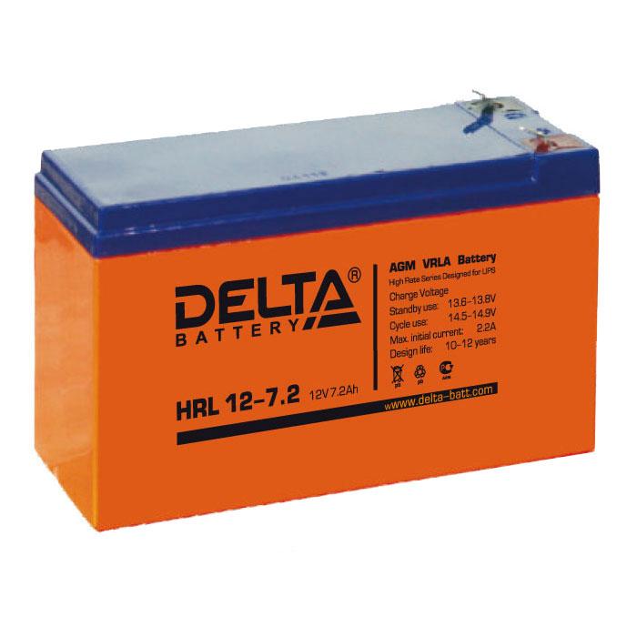 Батарея Delta HRL 12-7.2 (12V 7.2Ah)