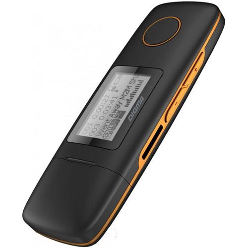 Плеер MP3 flash Digma Cyber U3 4Gb Black Orange