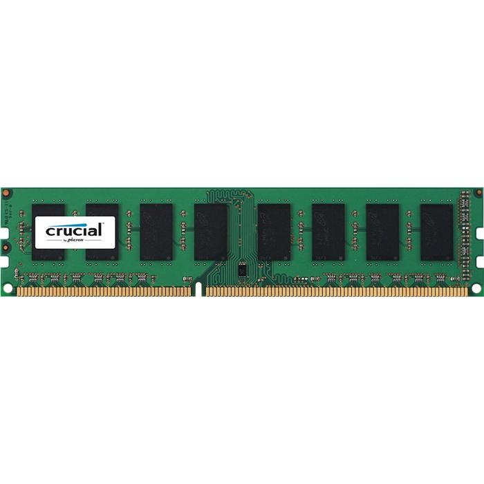 Модуль памяти DIMM 8Gb DDR3L 1600MHz Crucial ( CT102464BD160B )