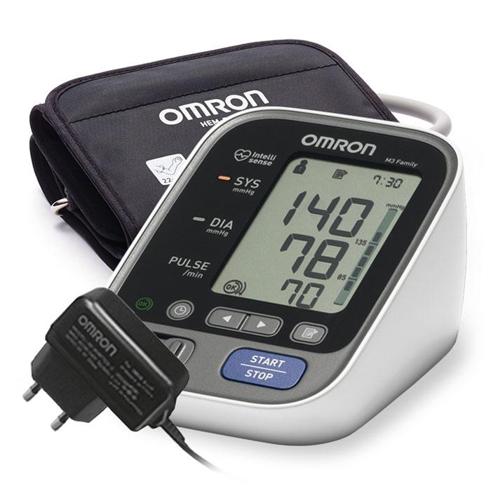 Тонометр автоматический Omron M3 Family (адаптер, веерообразная манжета)