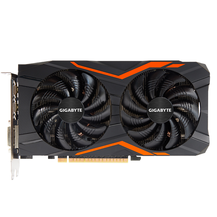 Видеокарта PCI-E GIGABYTE GeForce GTX 1050 2048Mb, DDR5 ( GV-N1050G1 Gaming-2GD ) Ret