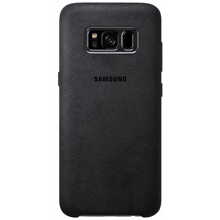 Чехол Samsung Alcantara Cover для Samsung Galaxy S8+ (2017) SM-G955, черный