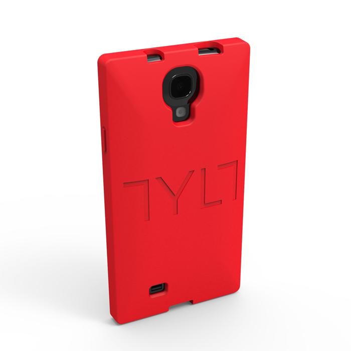 Чехол для Samsung i9500/i9505 Galaxy S IV TYLT SQRD GS4SSSQRDRD-T красный