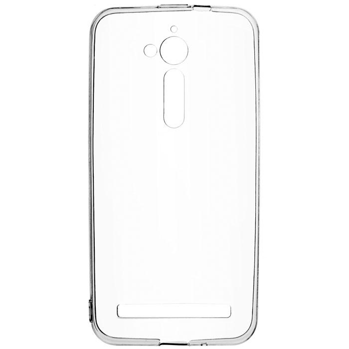 Чехол skinBOX Slim Silicone для Asus ZenFone Go ZB500KG прозрачный