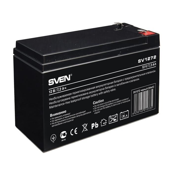 Батарея SVEN SV 1272 (12V 7.2Ah)