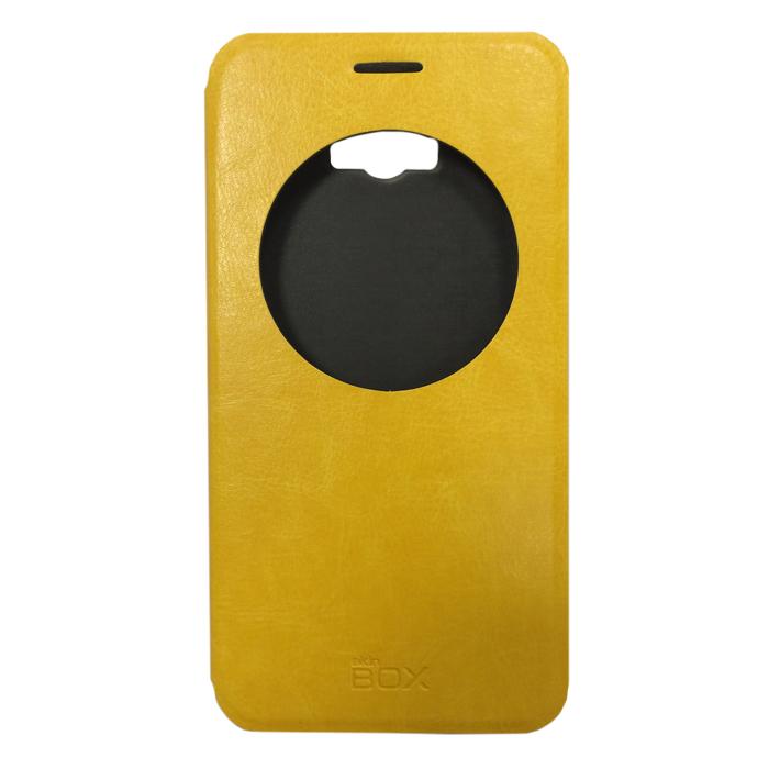 Чехол skinBOX Lux AW для Asus ZenFone Max ZC550KL желтый