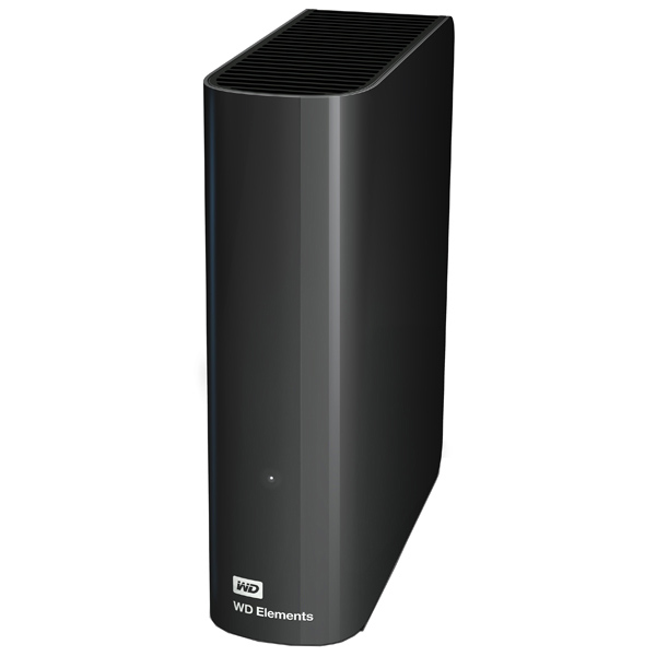 Внешний жесткий диск USB 3.5″ 3.0Тб WD Elements Desktop ( WDBWLG0030HBK-EESN ) Черный
