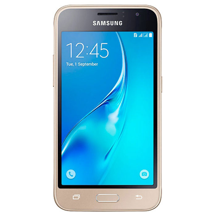 Смартфон Samsung Galaxy J1 (2016) SM-J120F/DS 8Gb золотистый