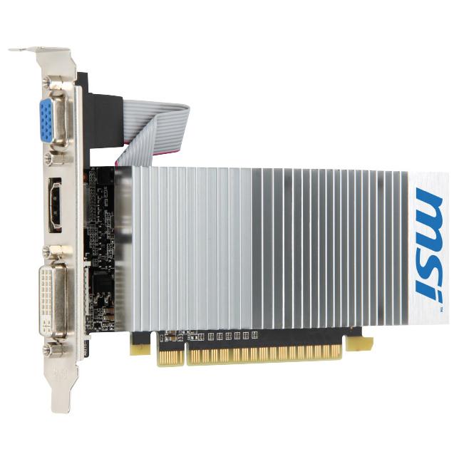 Видеокарта PCI-E MSI GeForce GT 210 1024Mb, DDR3 ( N210-TC1GD3H/LP )
