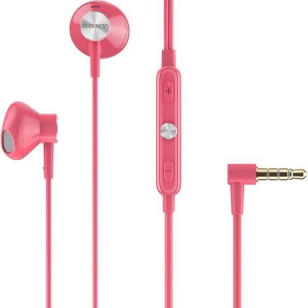 Гарнитура Sony STH30 с защитой от воды и пыли, розовая