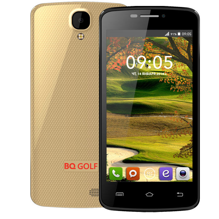 Смартфон BQ Mobile BQS-4560 Golf Gold