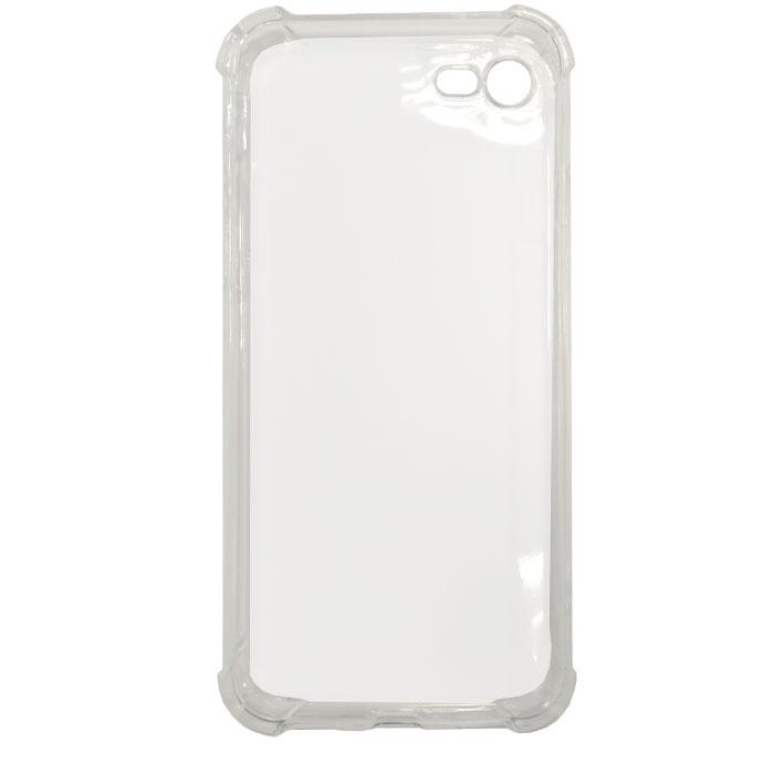 Чехол Gecko силиконовая светящаяся накладка для iPhone 7, белая