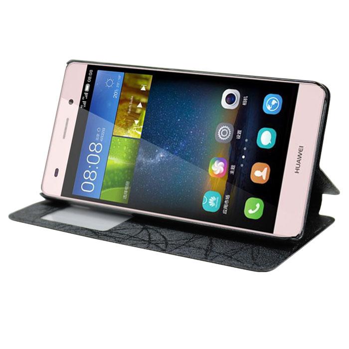 Чехол IT BAGGAGE Book-case для Huawei Ascend P8 Lite черный