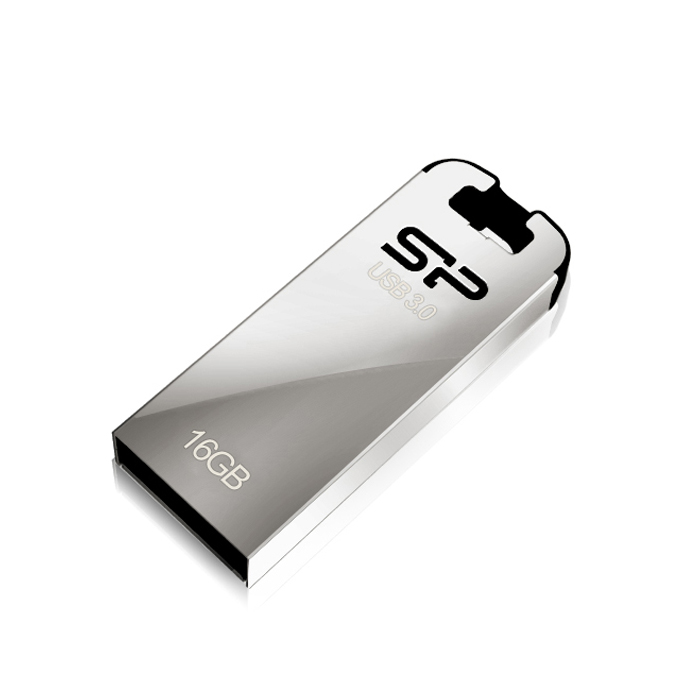 Флеш-диск 16GB Silicon Power Jewel J10 ( SP016GBUF3J10V1K ) USB 3.1 Серебристый