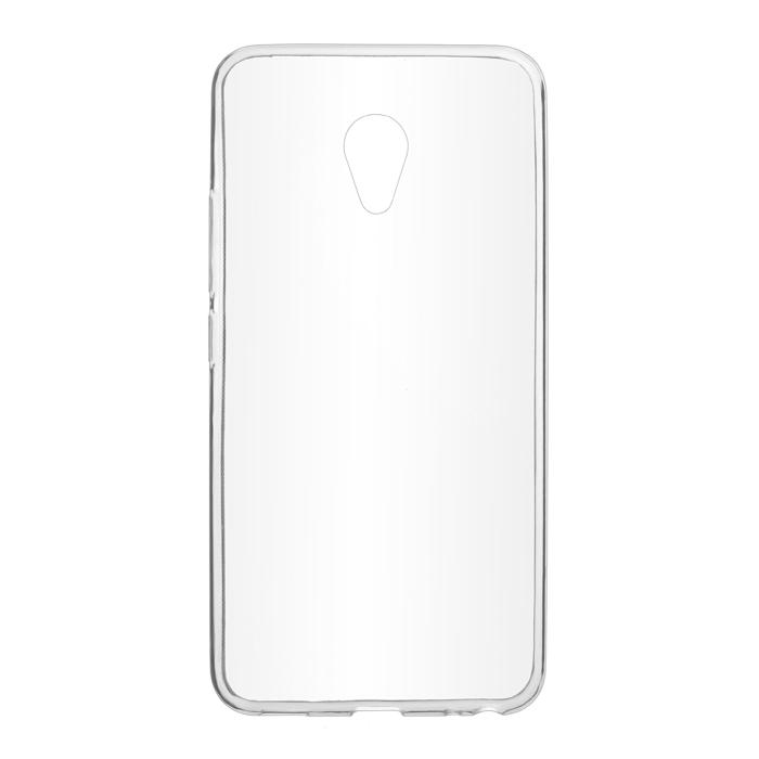 Чехол SkinBox 4People slim silicone для Meizu M5 Note, прозрачный