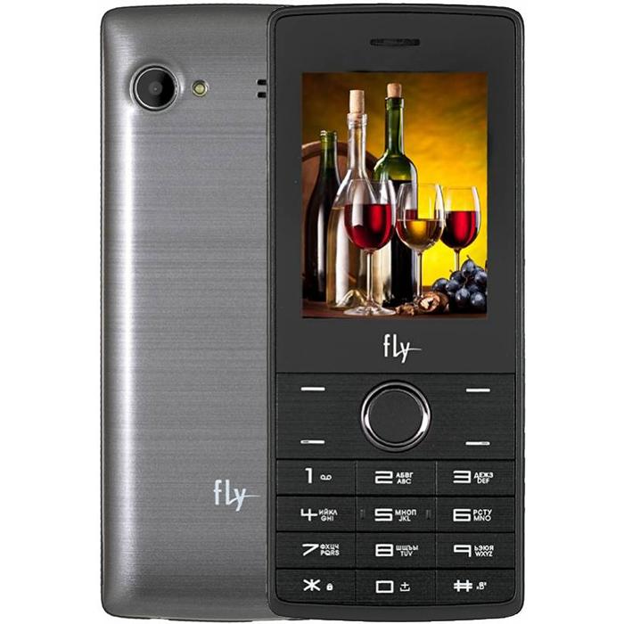 Сотовый телефон Fly FF244 Grey