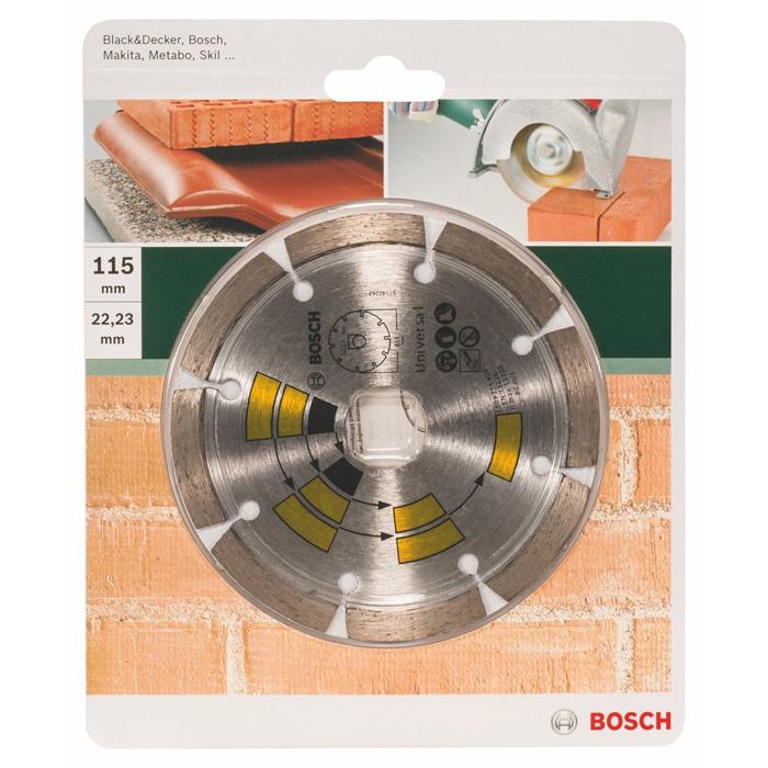 Алмазный диск универсальный Bosch DIY 115мм 2609256400