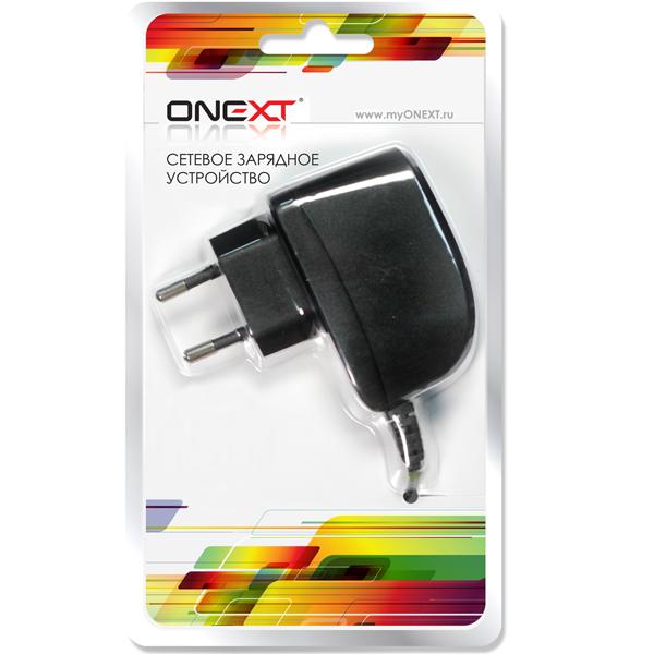 Зарядное устройство сетевое mini USB Onext 1A черный ( 38015 )