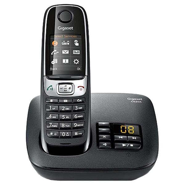 Телефон Dect Siemens C620A черный