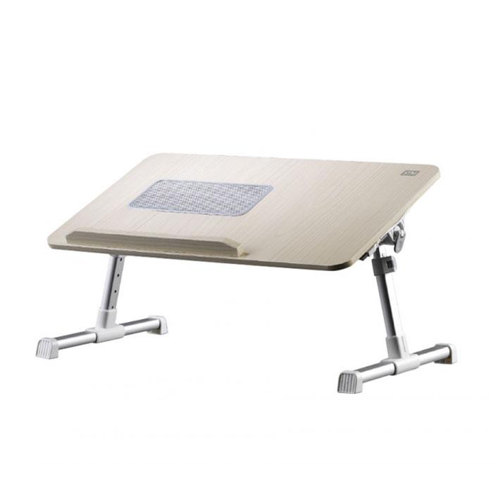 Универсальный стол-подставка STM NT5FA для ноутбука, вентилятор охлаждения, до 17″, коричневая