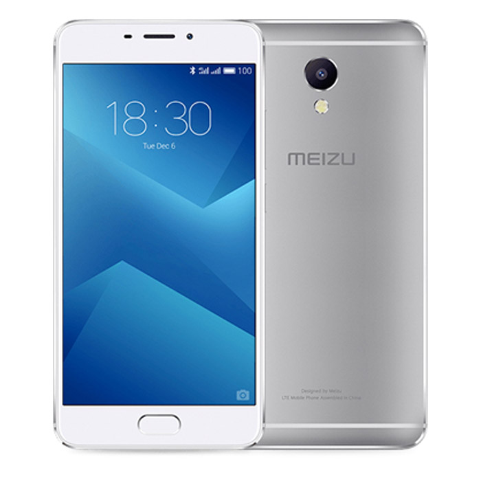 Смартфон Meizu M5 Note 16Gb Silver/White