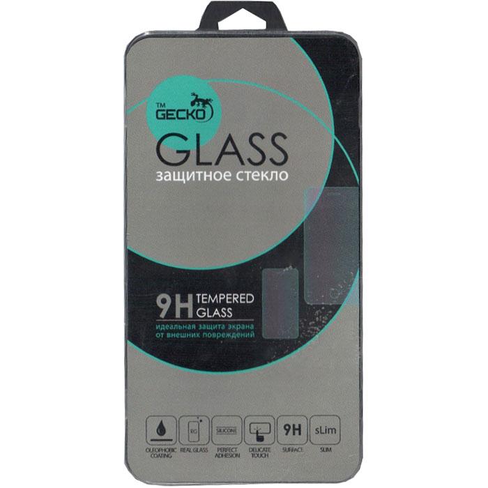 Защитное стекло Gecko для Meizu M5 Note на весь экран, черная рамка