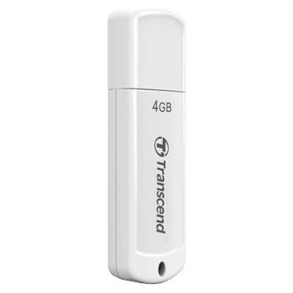 Флеш-диск 4Гб Transcend Jetflash 370 ( TS4GJF370 ) USB 2.0 Белый