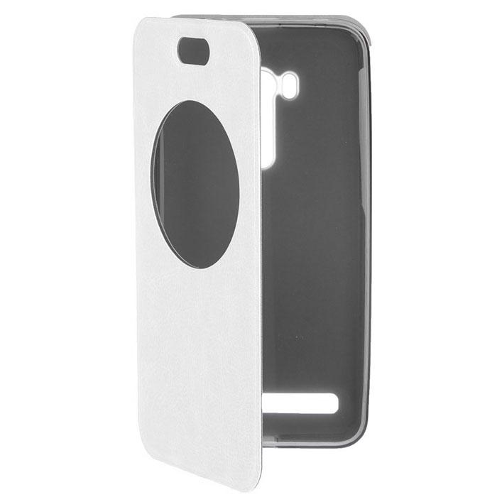 Чехол skinBOX Lux для Asus ZenFone Selfie ZD551KL белый