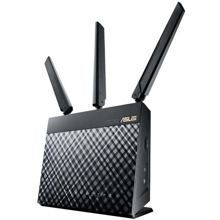 Беспроводной маршрутизатор ASUS 4G-AC55U 802.11n/ac 300/867Mbps 4xGLAN 1xWAN 4G LTE