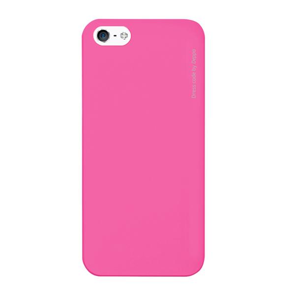 Чехол для iPhone 5/iPhone 5S Deppa Air Case, розовый