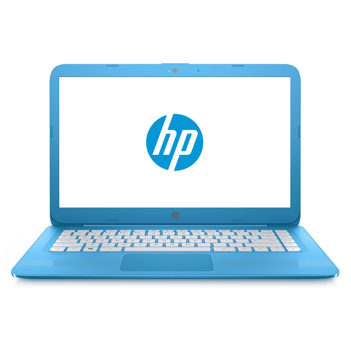 ноутбук 14.0″ HP Stream 14 14-ax000ur Intel N3050/2Gb/32Gb SSD/Win10 синий (Y3V10EA)