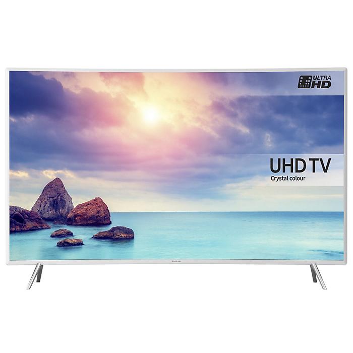 Телевизор ЖК 49″ Samsung UE49KU6510UX белый