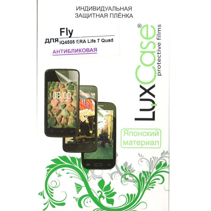 Защитная плёнка для Fly IQ4505 Quad Era Life 7 LuxCase антибликовая