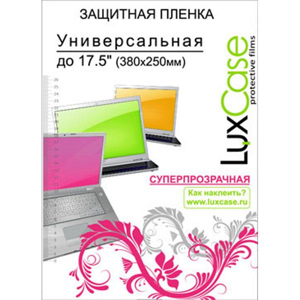 Защитная плёнка универсальная до 17,5″ Luxcase Суперпрозрачная