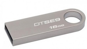 Флеш-диск 16Гб Kingston Data Traveler SE9 ( DTSE9H/16GB ) USB 2.0 Серый