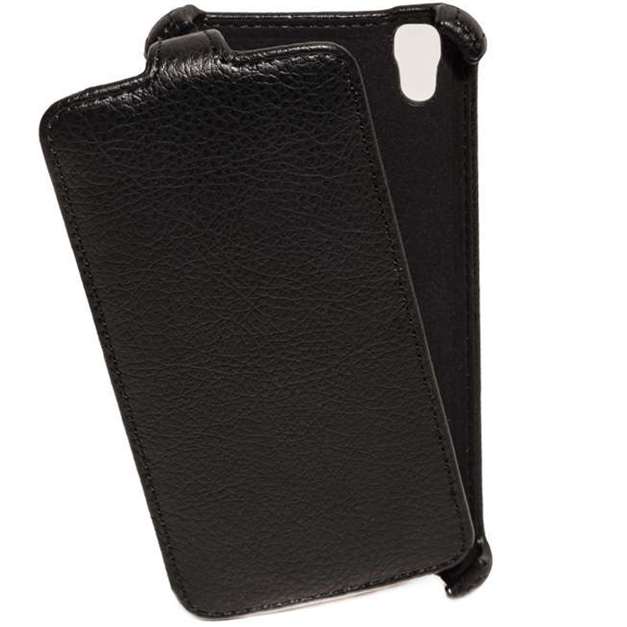 Чехол Gecko Flip case для LG X style K200, черный