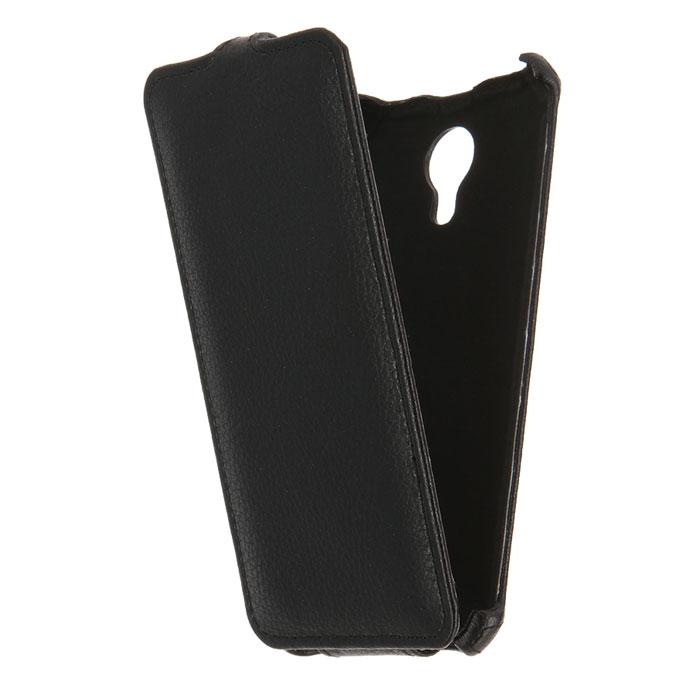 Чехол Gecko Flip для Meizu Pro 6, черный