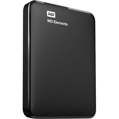 Внешний жесткий диск USB3.0 2.5″ 1.0Тб WD Elements Portable ( WDBUZG0010BBK-EESN ) Черный