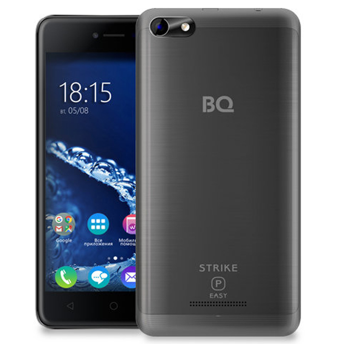 Смартфон BQ Mobile BQ-5058 Strike Power Easy Grey Matt