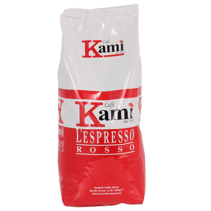 Кофе в зёрнах Kami Rosso 1 кг