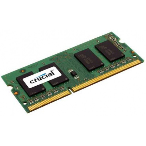 Модуль памяти SO-DIMM DDR3L 1600Mhz 8Gb Crucial ( CT102464BF160B )