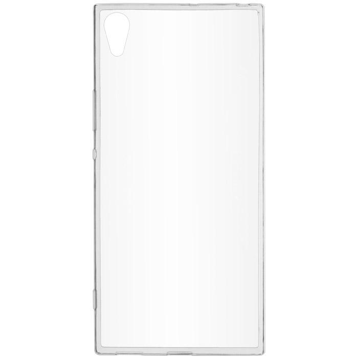 Чехол SkinBox slim silicone case для Sony Xperia XA1 Ultra прозрачный