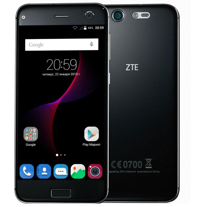 Смартфон ZTE Blade S7 4G Black