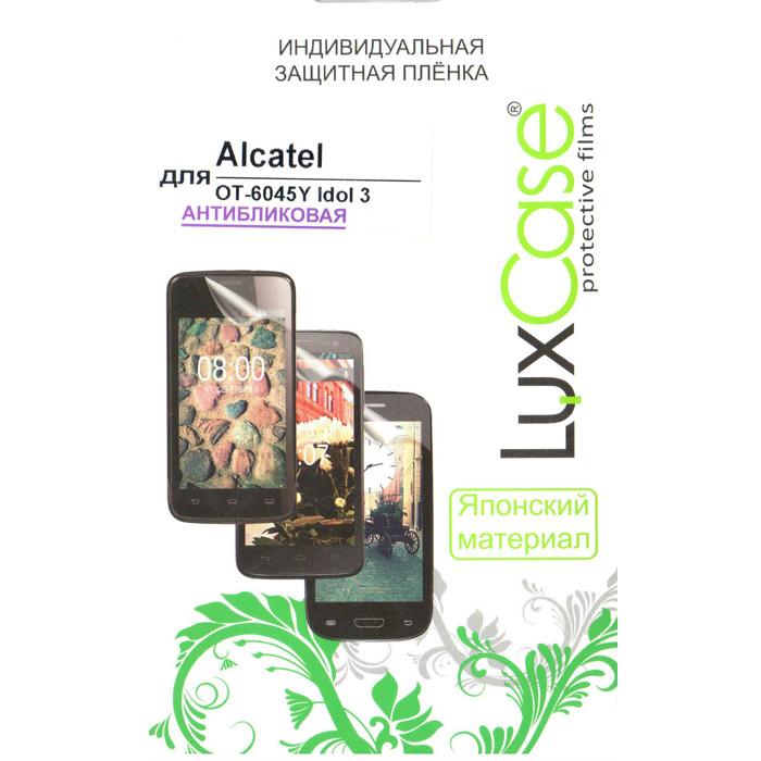 Защитная плёнка LuxCase для Alcatel One Touch 6045Y Idol 3 , Антибликовая