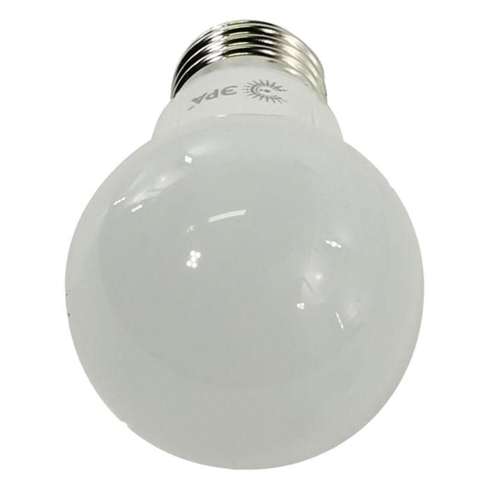 Светодиодная лампа ЭРА A55 E27 7W 220V белый свет