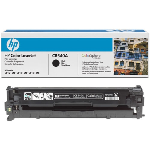 Картридж HP CB540A Black