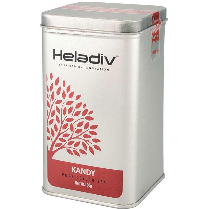 Чай чёрный листовой Heladiv KANDY TEA 100 г | Electrozon ru