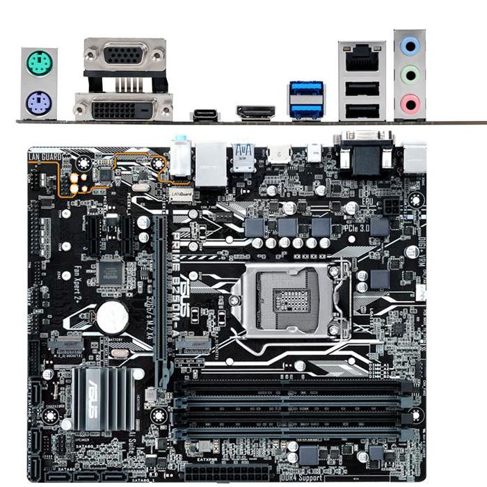 Материнская плата ASUS B250 LGA1151 DDR4 ( Prime B250M-A ) mATX, Ret
