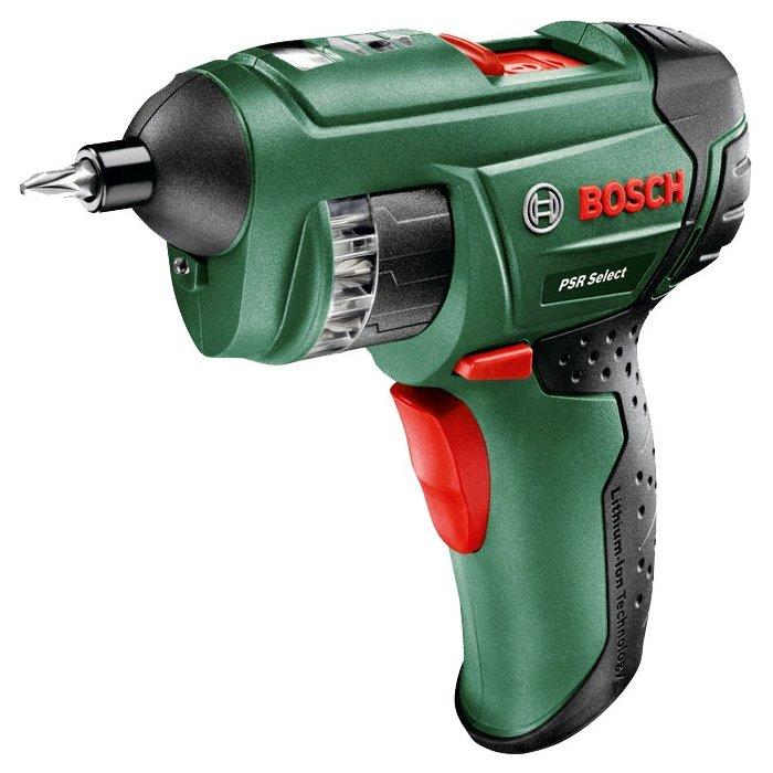 Аккумуляторный шуруповерт Bosch PSR Select Case 0603977020