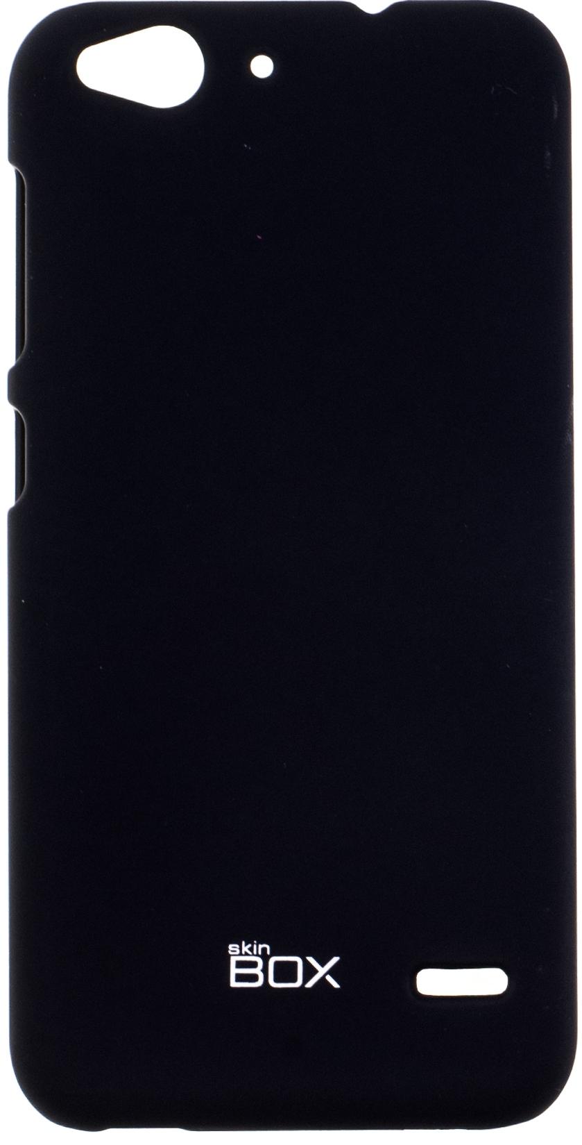 Чехол SkinBox 4People для ZTE Blade S6, черный